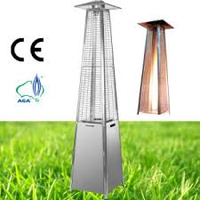 Pyramid Gas Patio Heater Stainless Steel Modern Pyramid Outdoor Patio Heater Stainless
