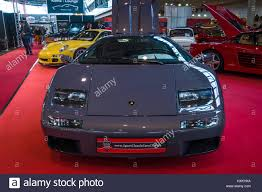 lamborghini classic stuttgart germany march 02 2017 sports car lamborghini diablo