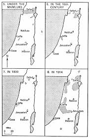 continuous jewish presence in the holy land with maps