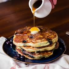 Blueberry Pancake Recipe Blueberry Kefir Pancakes Lactose Free Recipes