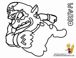 wario coloring sheets quoteko wario coloring page wario and