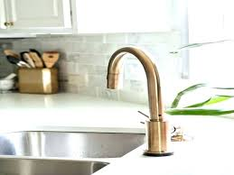 bronze faucets for kitchen delta chagne bronze faucet lovely in kitchen by design of canada