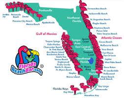 florida towns map best 25 florida beaches map ideas on key florida