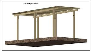 tettoia auto legno una tettoia garage costruita in legno