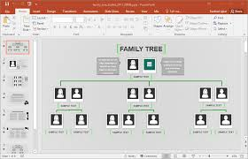 family tree presentation template for powerpoint