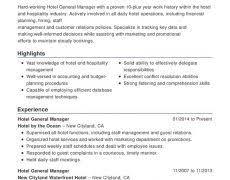 Hospitality Resume Hotel Resume 19 Hospitality Combination Nardellidesign Com