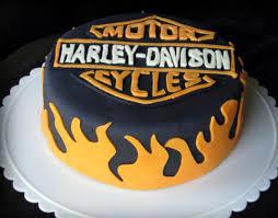 harley davidson cake decorations birthday cakes