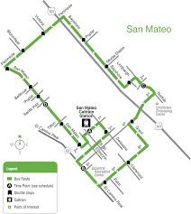 Vta Map Smcs Bus Schedule Samtrans Sf Bay Transit