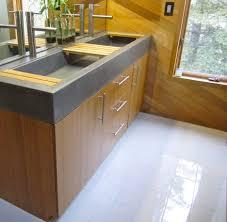 Concrete Kitchen Countertops Bathroom Design Fabulous Concrete Countertop With Sink Cement