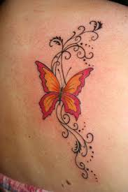 butterfly and swirls tattoo pictures to pin on pinterest tattooskid