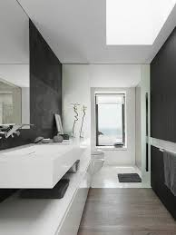 pictures of black u0026 white bathrooms modern minimalist black