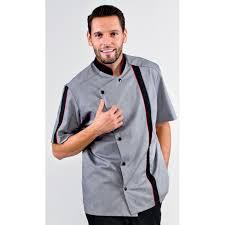 veste de cuisine homme noir veste de cuisine homme coupe droite chambray noir dijon rozen