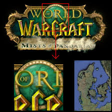 World Of Warcraft Map Denmark In The Style Of Maps From The Video Game World Of Warcraft