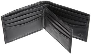amazon black friday coins columbia men u0027s leather extra capacity slimfold wallet black one
