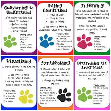reading strategies posters printable to pinterest reading