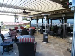 Louvered Patio Roof Factory Direct Okc For A Traditional Patio With A Patio Cover