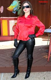 Real Leather Leggings For The Real A Gordon Photo Domina Pinterest