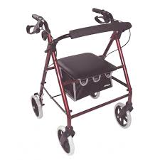 elder walker lightweight rollator mobility aids devices health disability