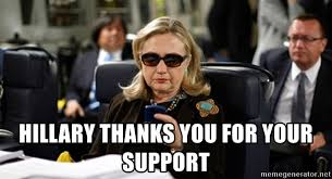 Texts From Hillary Meme - hillary thanks you for your support hillary clinton texting