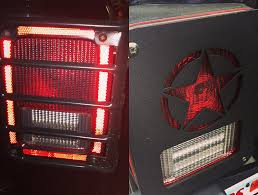 rugged ridge elite tail light guards dna jeep tail light covers jeepmodreview com