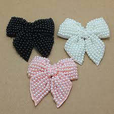 handmade bows aliexpress buy pink pearl bows diy handmade bows with