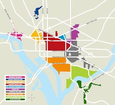 Printable Map Of Washington Dc by Dc Bid Council Map