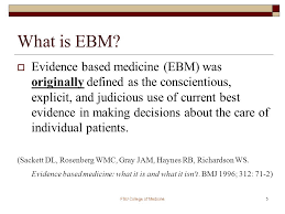 selecting the best evidence based medicine resources ppt