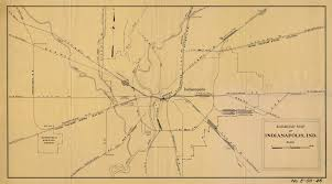 Ohio Union Map by Indianapolis Rr Maps