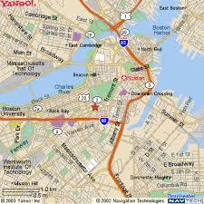 boston tourist map boston travel guide maps cambridge charlestown harvard