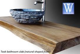 salle de bain plan de travail meubles de salle de bain en teck plan de travail
