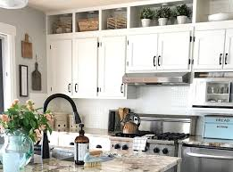 how to paint above kitchen cabinets how to paint kitchen cabinets and a 5 year update