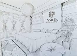 dessin chambre ozartis la rochelle dessin chambre elisa oz artis