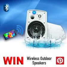 great wireless outdoor speakers for you backyard patio sundeck