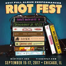 Riot Fest Map Chicago by Riot Fest Announces Remaining Full Album Plays Danzig And Wu Tang