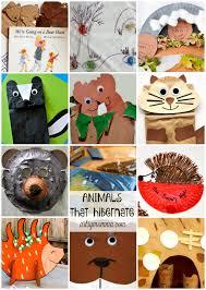 fun preschool hibernation theme activities preschool themes