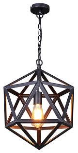 Pendant Lighting Vintage Geometric Shaped Pendant Lighting Houzz