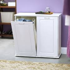 White Laundry Room Cabinets by Laundry Room Laundry Hamper Plans Design Diy Laundry Hamper