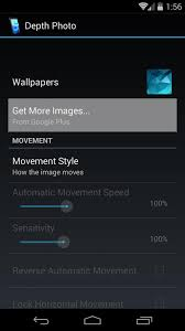turn your own photos into 3d wallpapers for android nexus