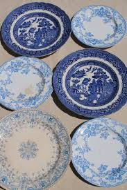 antique china pattern antique china plates blue white transferware willow apple
