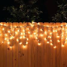 outdoor fence lighting ideas home design ideas 2018 best backyard party decorations on fence