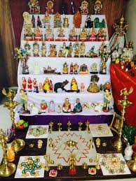 How To Decorate Home Temple Agriculture Based Theme For Golu In Bharatmoms Com Dolls