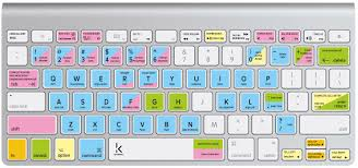 Spreadsheet For Mac Microsoft Excel Keyboard Sticker With Shortcuts Hotkeys For