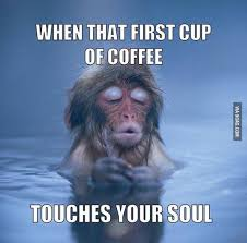 Coffee Meme Images - the first cup funny coffee meme