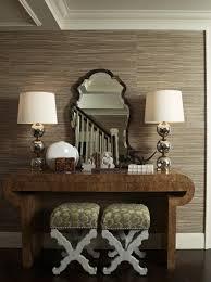 taupe grasscloth wallpaper design ideas
