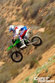 how to get into motocross racing 2014 kawasaki kx85 and kx100 first impression dirt rider magazine