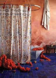 Ruffle Shower Curtain Anthropologie Creative Of Anthropologie Shower Curtains And Curtain