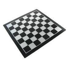 Metal Chess Set by Marble Metal And Unique Chess Boards