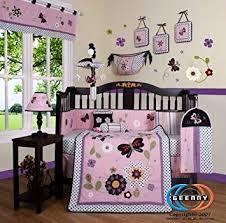 amazon com geenny boutique 13 piece crib bedding set daisy