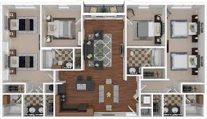 floorplans rio west austin 2 3 u0026 4 bedroom apartments
