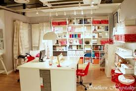 Craft Sewing Room - 30 ideas for your crafts room home office or workroom talk of